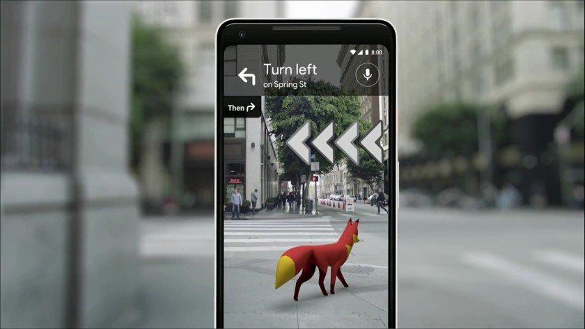 Google Maps bắt đầu thử nghiệm tính năng thực tế tăng cường