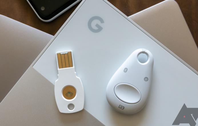 Google Store thông báo Titan Security Key không còn khả dụng