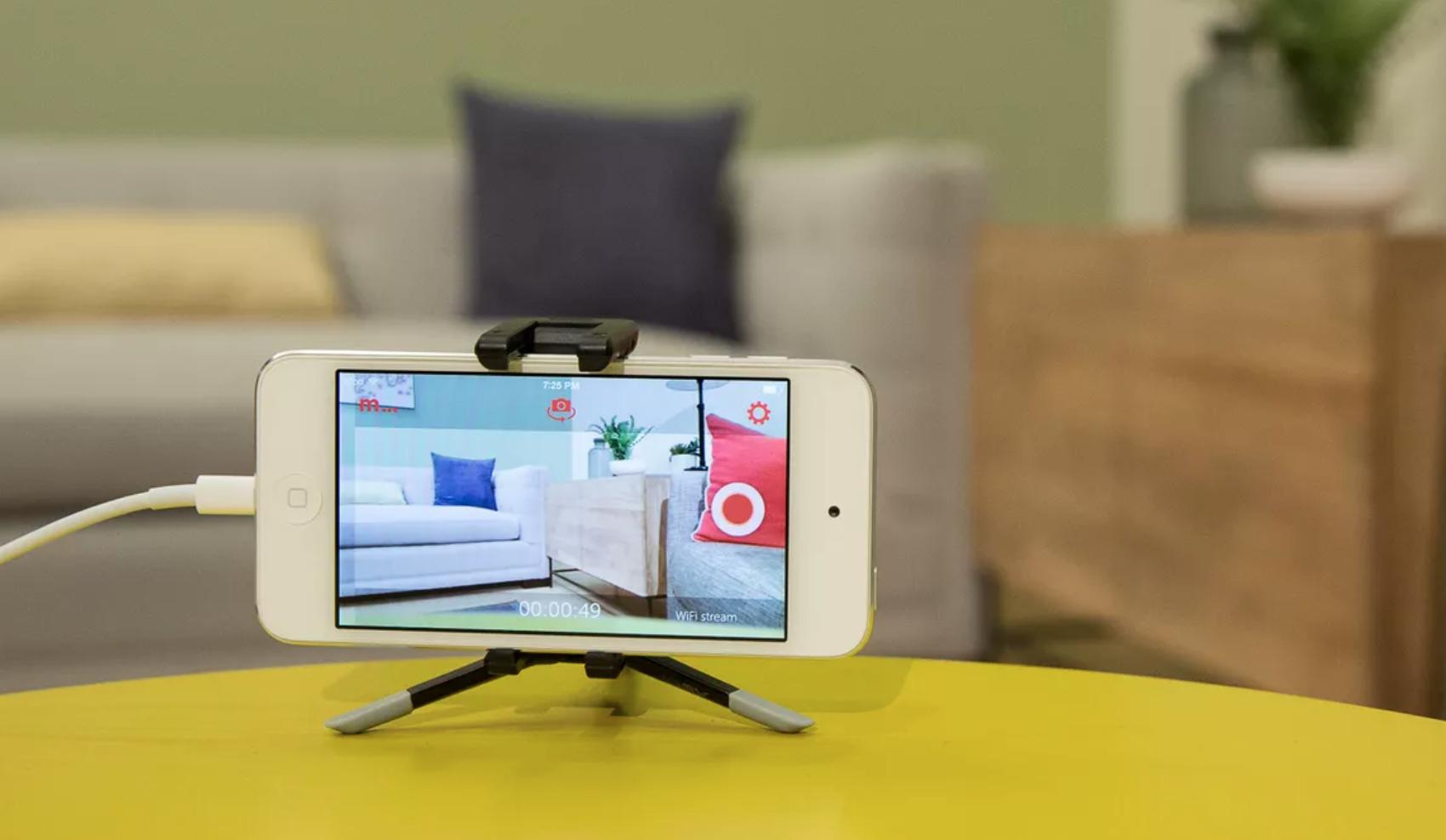 'Hô biến' điện thoại cũ thành camera an ninh