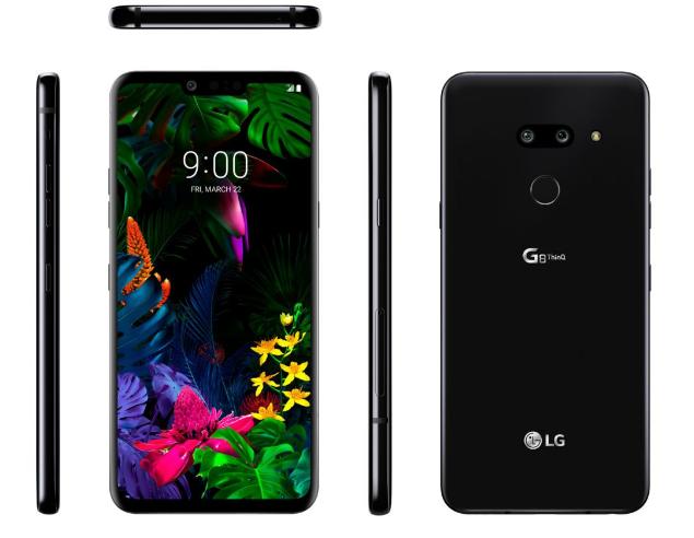 LG G8 có tính năng phát âm thanh qua màn hình
