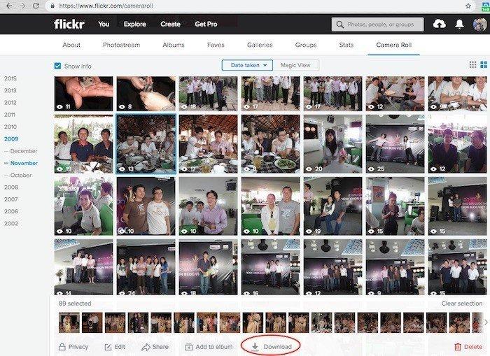 Sao lưu ảnh trên Flickr về trước khi chúng bị xóa vĩnh viễn