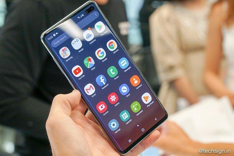Trên tay sớm Samsung Galaxy S10 / S10 Plus: máy mỏng nhẹ, màn hình rất đẹp