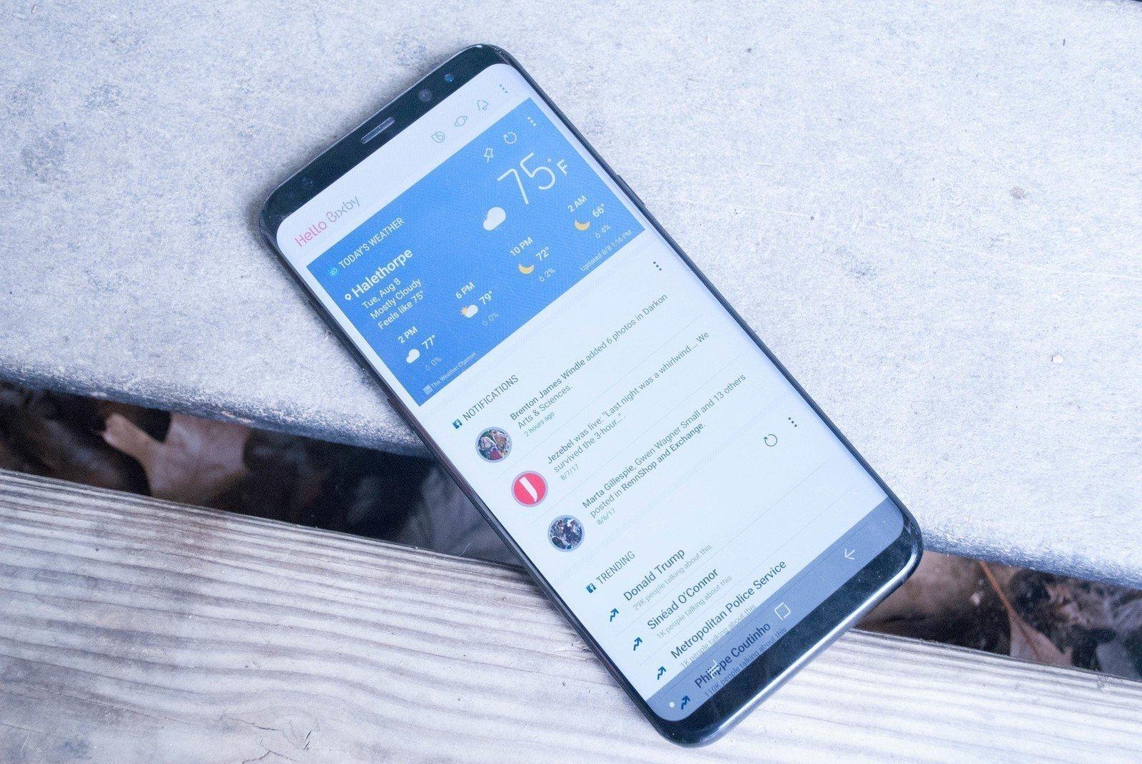 Ánh xạ lại nút Bixby trên điện thoại Samsung Galaxy