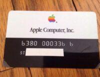 Apple Card 2019 không phải là thẻ tín dụng đầu tiên của Táo khuyết