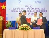 Cà Mau ứng dụng Zalo để cải cách hành chính