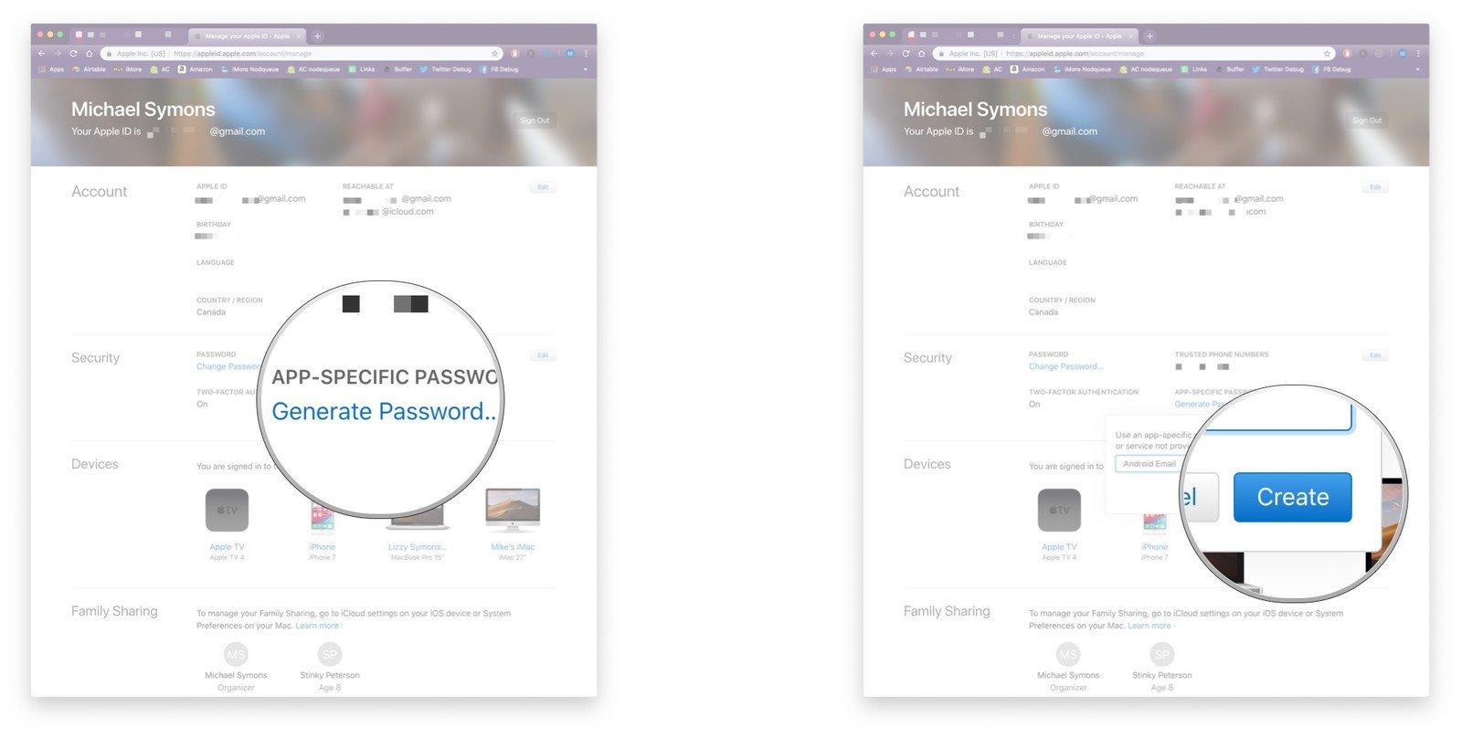 Cách thiết lập tài khoản iCloud trên Android