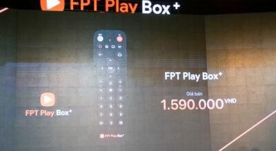 FPT Play Box+ ra mắt: nâng cấp phần cứng, hỗ trợ Android TV P