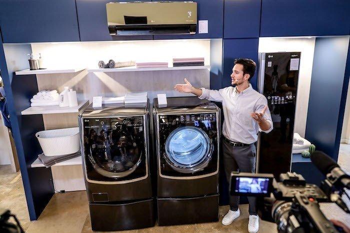 Giới thiệu mô hình LG Home tại InnoFest Châu Á 2019