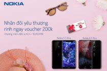 """HMD Global công bố chương trình """"Nhân đôi yêu thương rinh ngay voucher 200k"""" cùng Nokia"""