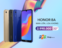 Honor 8A lên kệ, giá chưa tới 3 triệu