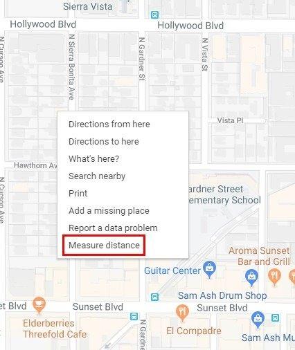 Hướng dẫn đo khoảng cách giữa hai điểm trong Google Maps