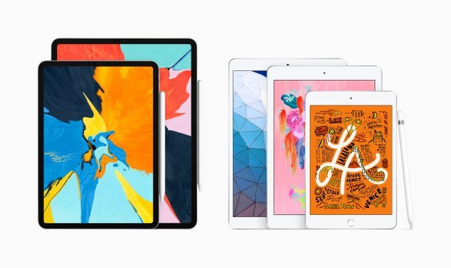 iPad Air và Ipad mini mới ra mắt có hỗ trợ Apple Pencil