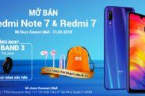 Mi Store mở bán Redmi Note 7 và Redmi 7 ngày 31/3
