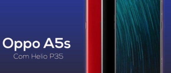 OPPO A5s: màn hình giọt nước và chip Helio P35 mạnh mẽ