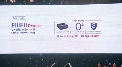 OPPO F11/F11 Pro ra mắt: pin 4.020 mAh, sạc nhanh VOOC, giá từ 7,3 triệu đồng