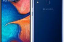Ra mắt Samsung Galaxy A20: màn hình Infinity-V 6.4 inch và pin 4.000 mAh