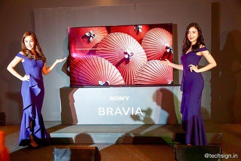 Sony ra mắt TV OLED 4K HDR A9G tại Singapore