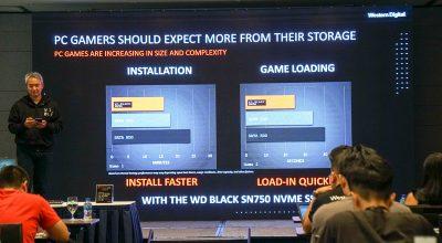 Ra mắt dòng SSD cho PC Gaming WD Black SN750 NVMe