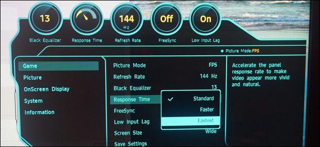 Thời gian phản hồi màn hình máy tính nghĩa là gì?