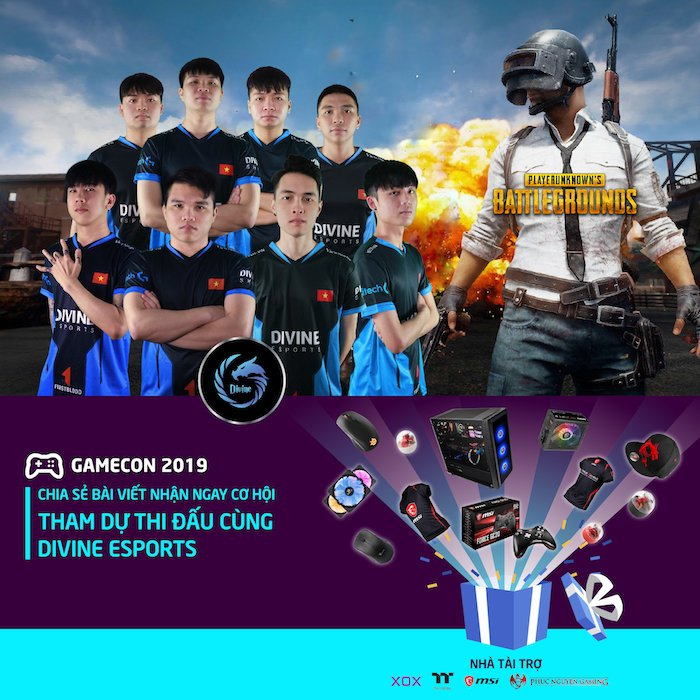 Triển lãm Viba Show, GameCon VIETNAM 2019 diễn ra từ ngày 03-05/4