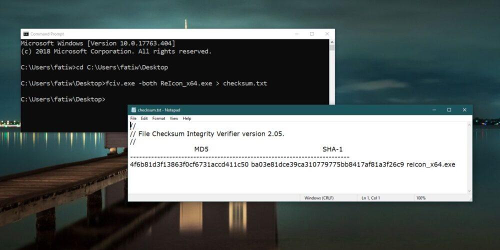 Cách lưu output của Command Prompt và PowerShell thành file text trên Windows 10