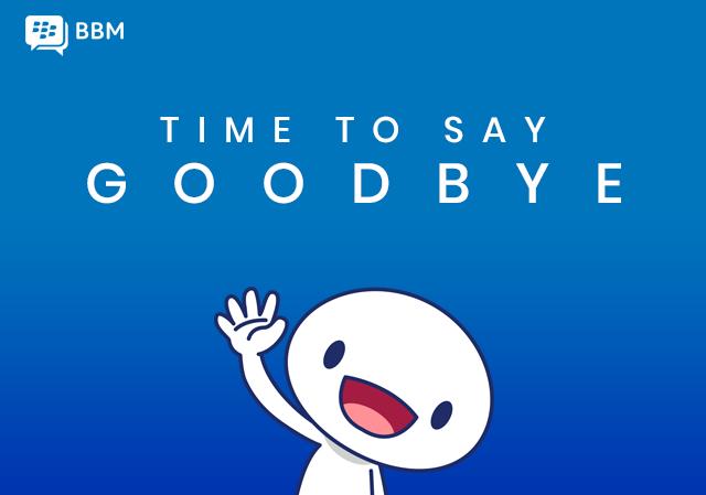 Dịch vụ BBM sẽ chính thức ngưng hoạt động từ 31/5 tới