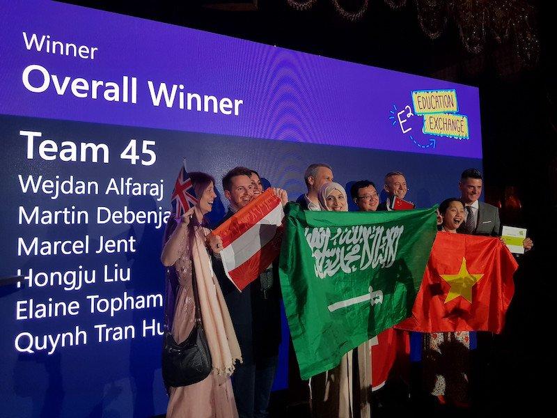 Giáo viên Việt Nam được vinh danh tại sự kiện Microsoft Education Exchange