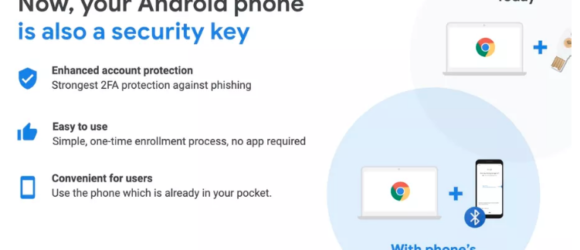 Google cho phép dùng smartphone Android làm khóa vật lý để xác minh 2 bước