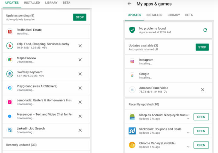 Google Play Store thử nghiệm tải nhiều ứng dụng đồng thời