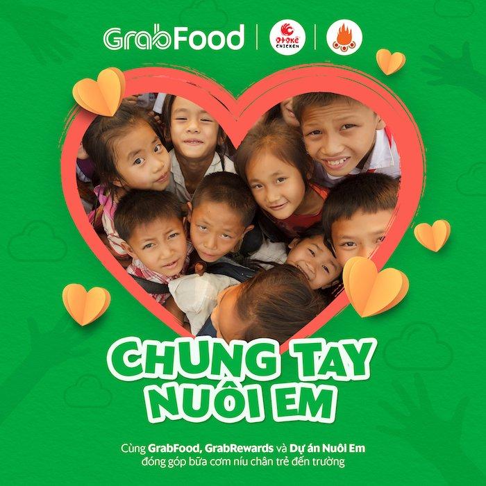 Grab và dự án Nuôi Em mang 117.000 bữa ăn cho trẻ vùng cao Tây Bắc