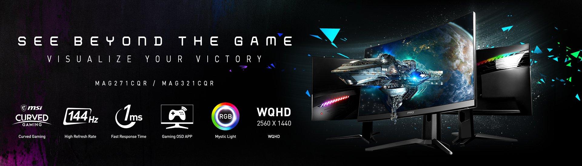 MSI vươn mình trở thành hãng cung cấp màn hình cong gaming hàng đầu 2019