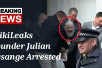 Nhà sáng lập WikiLeaks bị bắt ở Anh sau khi Ecuador hủy quyền tị nạn
