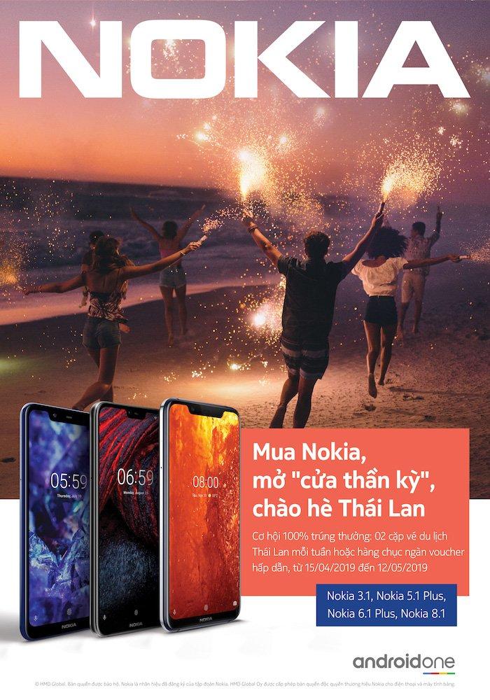 """Nokia khởi động mùa hè với """"Mở cửa thần kỳ, chào hè Thái Lan"""""""