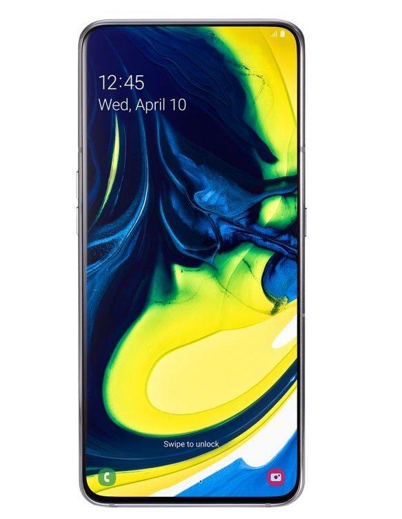 Samsung ra mắt Galaxy A80, màn hình vô cực, camera xoay trượt 180 độ