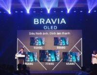 Sony giới thiệu TV OLED A9G Master Series