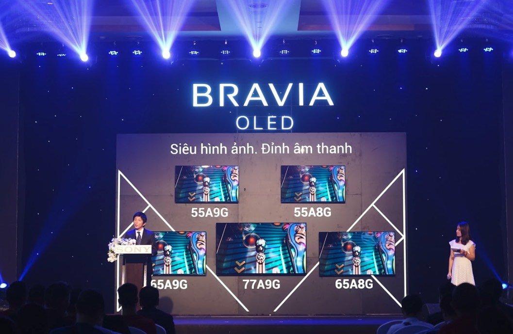 Sony giới thiệu TV OLED A9G Master Series   Điểm tin công nghệ