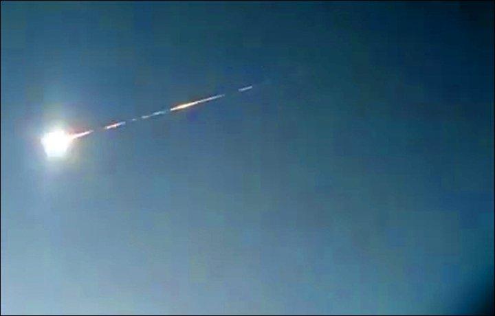 Thiên thạch lại tiếp tục phát nổ tại Nga