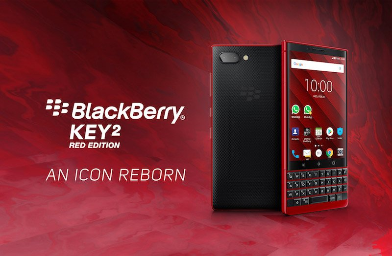 BlackBerry KEY2 Red Edition chính thức bán tại Việt Nam, số lượng có hạn
