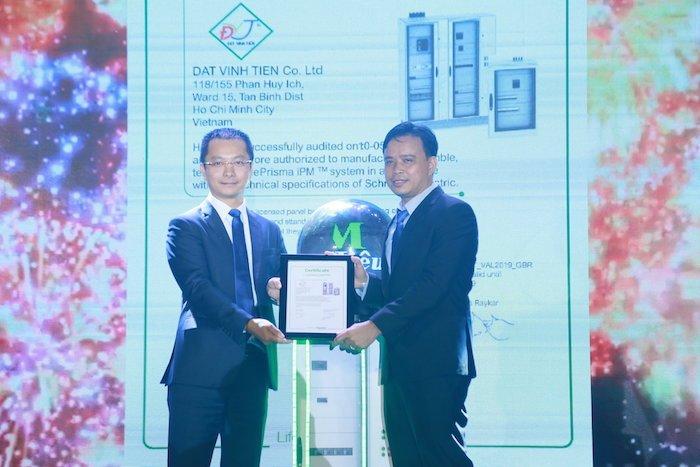Đạt Vĩnh Tiến sản xuất tủ điện hạ thế Prisma iPM theo công nghệ Schneider Electric