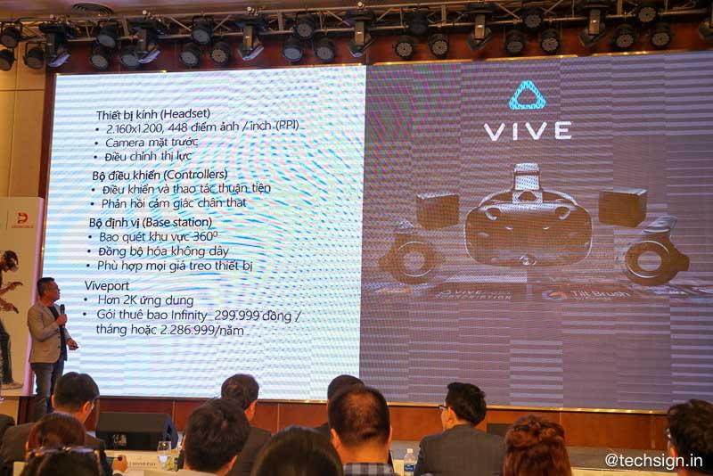 Digiworld hợp tác chiến lược cùng HTC Vive, ra mắt 3 bộ kính thực tế ảo