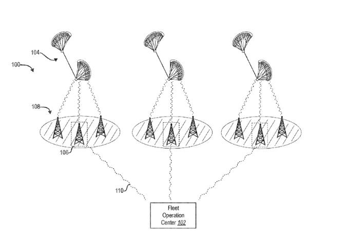Facebook nộp bằng sáng chế drone có cánh buồm
