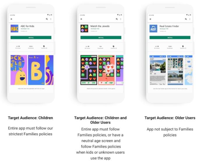 Google tập trung bảo vệ trẻ em trên Play Store