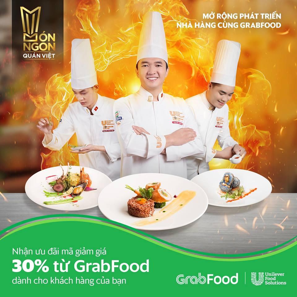GrabFood đồng hành cùng cuộc thi Món Ngon Quán Việt