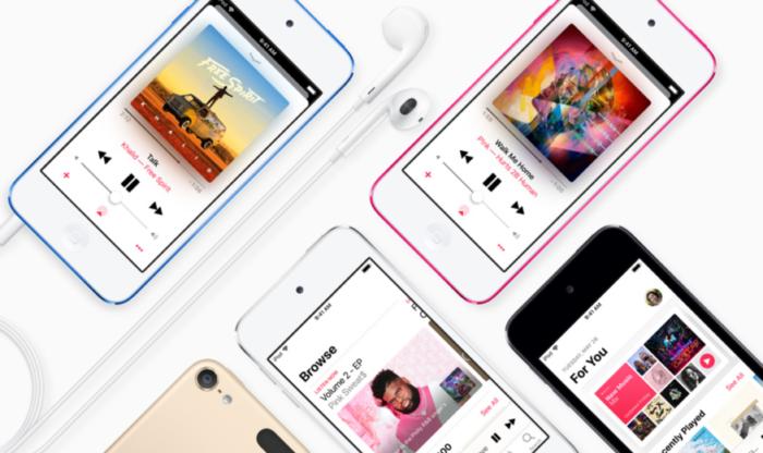 iPod Touch mới ra mắt với bộ vi xử lý và dung lượng được nâng cấp