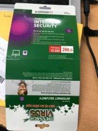 Mua phần mềm bảo mật Kaspersky giả, thiệt hại thật