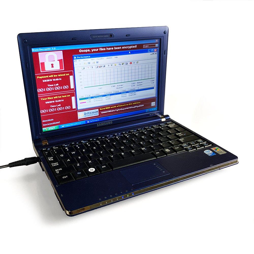 Laptop chứa 6 loại mã độc nguy hiểm nhất đang được đấu giá lên đến 615.000 USD