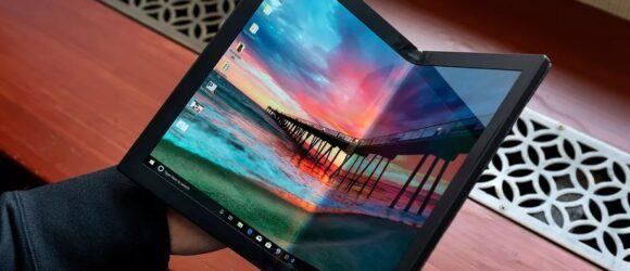 Lenovo công bố mẫu laptop màn hình gập đầu tiên trên thế giới