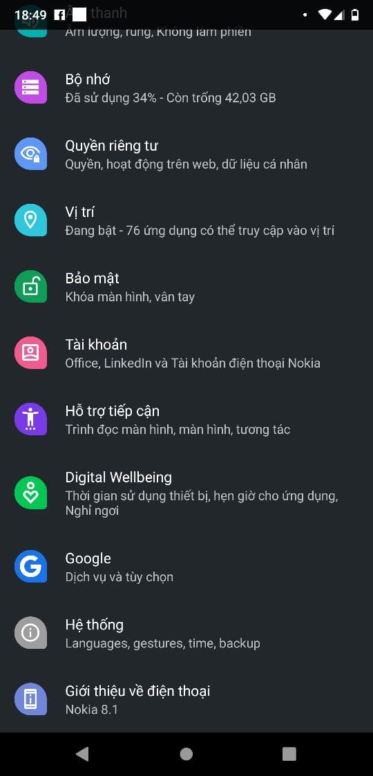 Nokia 8.1 vào danh sách smartphone đầu tiên lên Android Q Beta