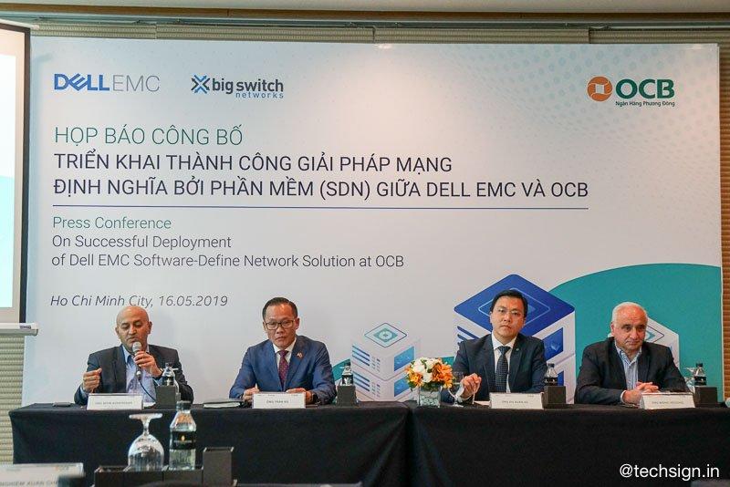 OCB triển khai thành công giải pháp SDN từ Dell EMC