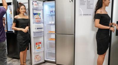 Samsung ra mắt tủ lạnh Side by Side RS5000, giá từ 25 triệu đồng